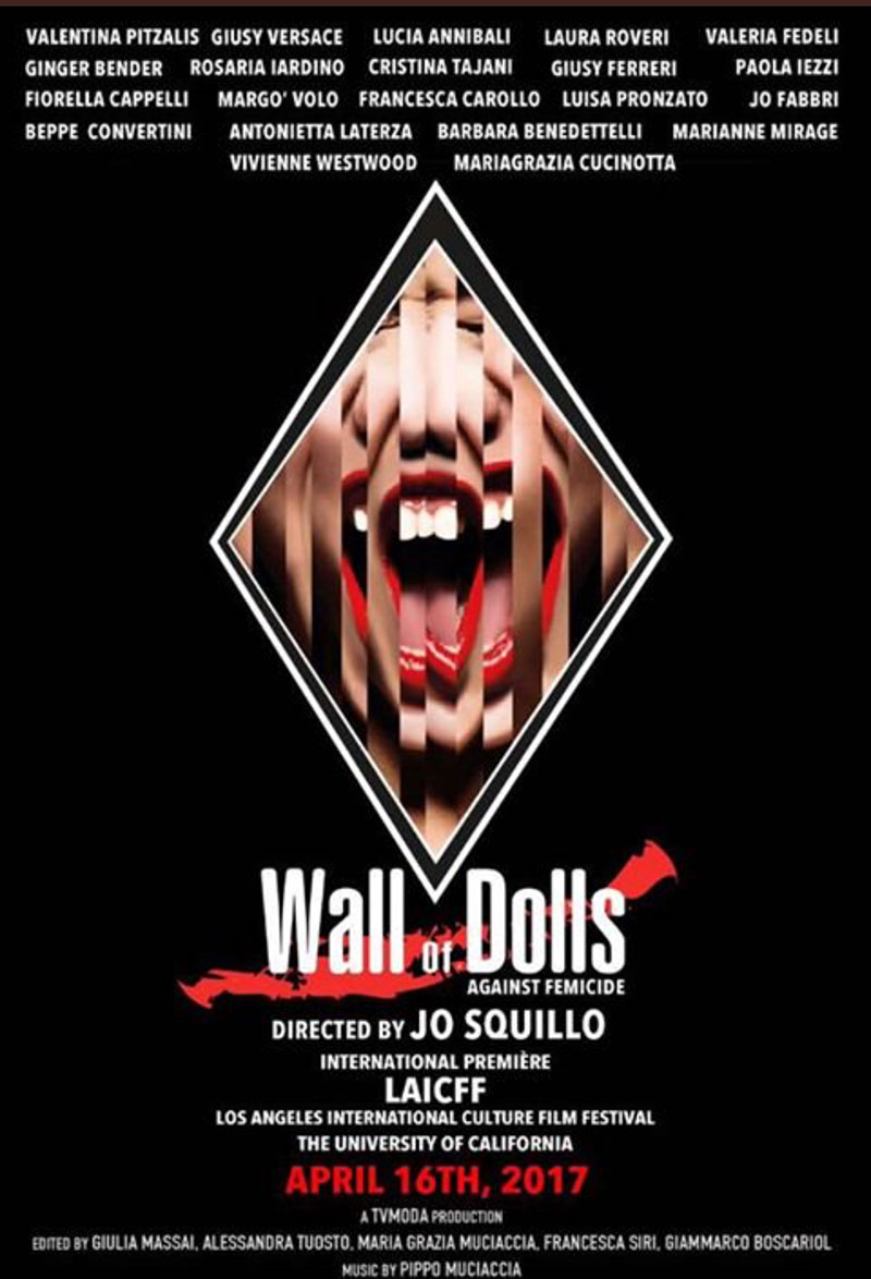 wall of dolls 2017